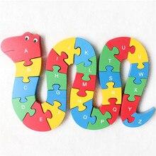 26 letter digital wooden puzzle building  puzzle intelligence puzzle