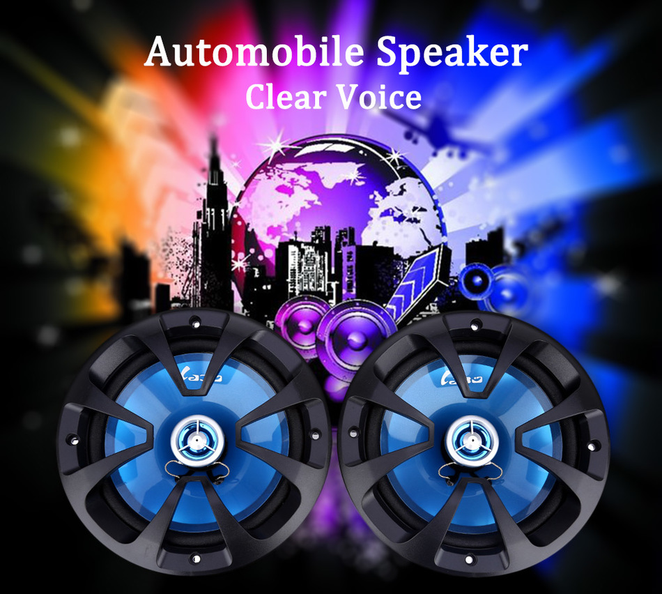 Automobile LB - PP3652T Automobile Coaxial Loudspeaker 6.5 Inch High Pitch Car Audio Car Speaker Perfect Sound Car HIFI