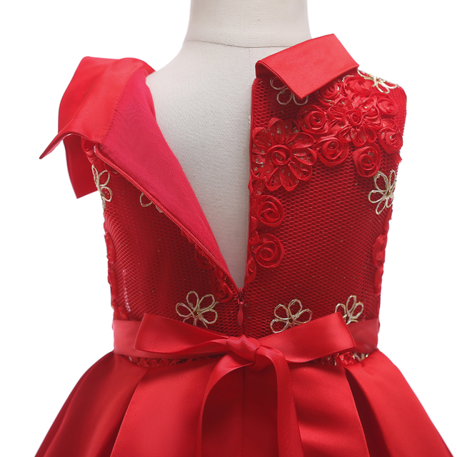 Girls Christmas Dress Children Clothing Party Wedding Dress Princess Kids Dresses For Girls Costume 3 4 5 6 7 8 9 10 Years