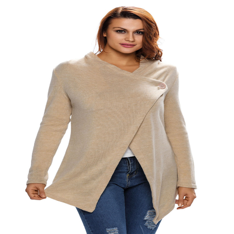 Compare Prices on Button Front Cardigan Sweatshirt- Online ...