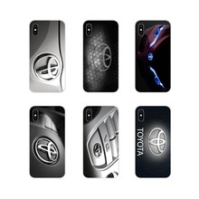 Toyota Racing Logo Accessories Phone Cases Covers For Huawei P Smart Mate Honor 7A 7C 8C 8X 9 P10 P20 Lite Pro Plus(China)