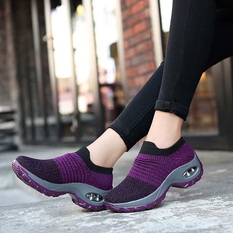 New high quality Lightweight Outdoor Athletic Lovers walking sport shoes women Running shoes women sneakers Female size35-42 (China)