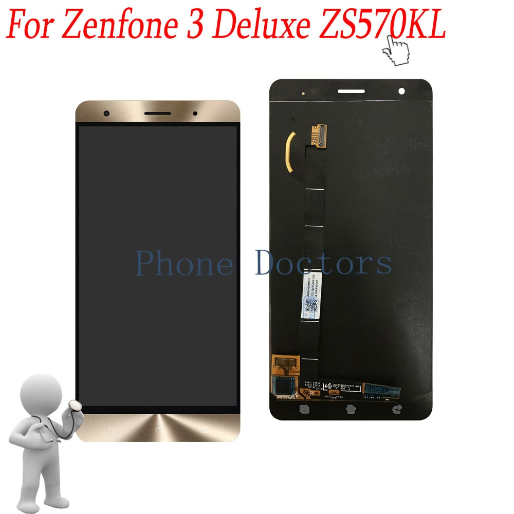 5 7 inch Full LCD Display Touch Screen Digitizer Assembly For Asus Zenfone 3 Deluxe ZS570KL