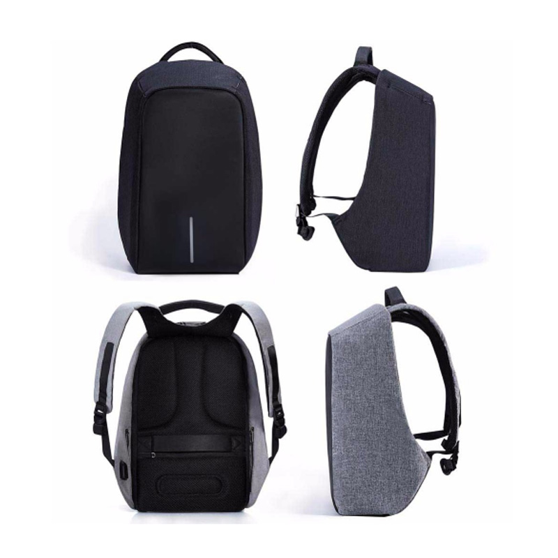 2019 Brand Laptop Backpack USB Charging Anti Theft Travel Backpack Multifunction Waterproof School Bag Male Mochila Notebook in Laptop Bags Cases from Computer Office