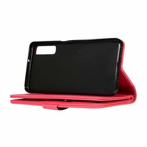 Image 5 - Étui portefeuille paillettes pour Samsung Galaxy A6 A7 2018 J4 J6 Plus fermeture à glissière magnétique livre couverture rabattable pour A750 J330 J530 EU téléphone Capa