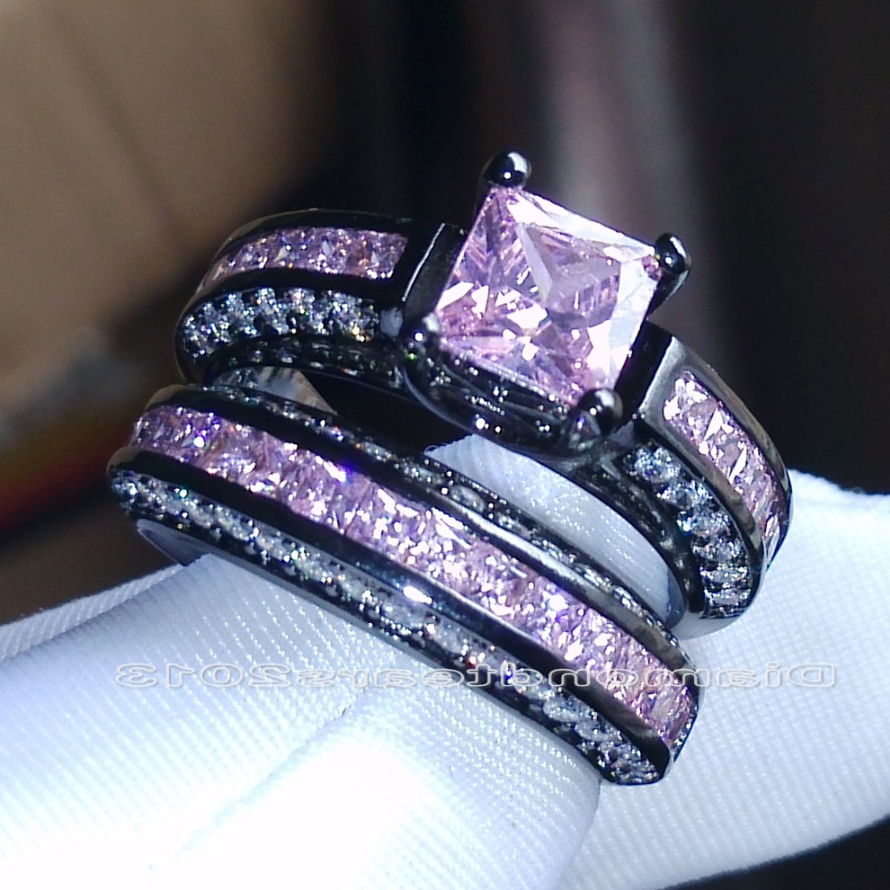 online buy wholesale black gold wedding set pink from china black