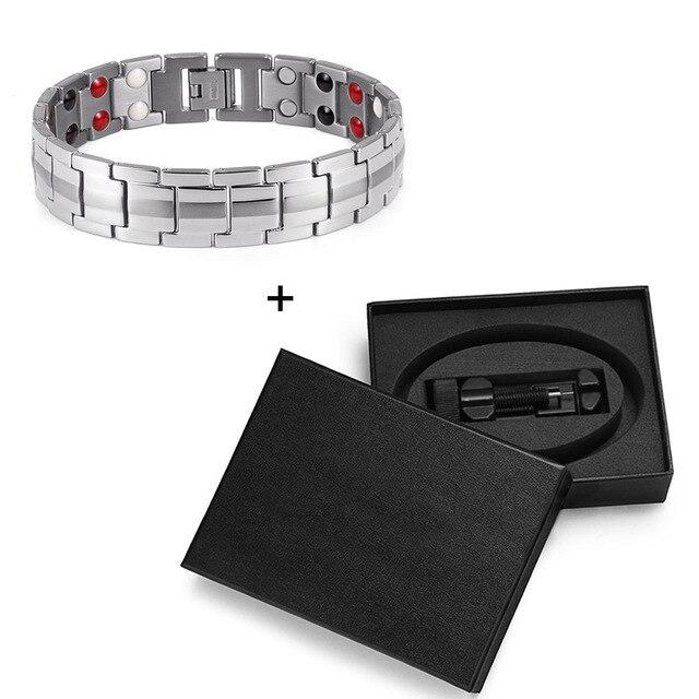 Купить браслеты welmag из титана для магнитной терапии модные ювелирные