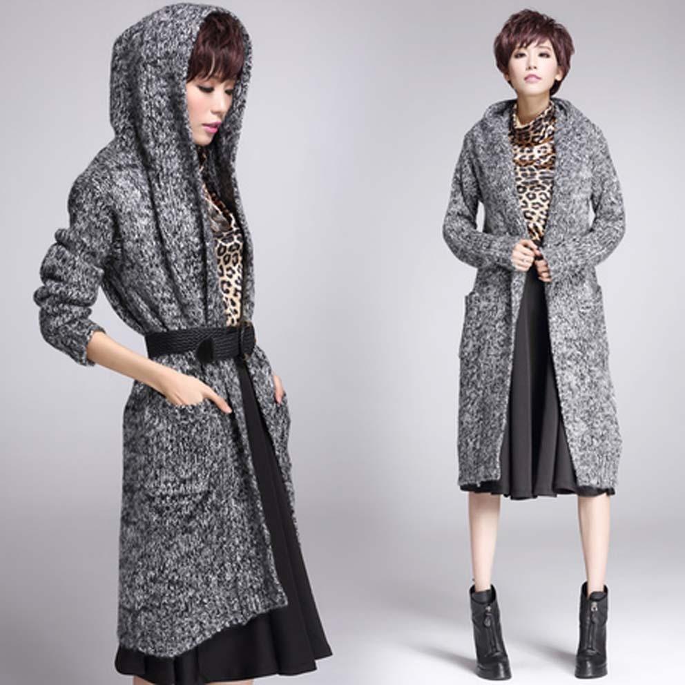 Women's sweaters 2015 new European and American fashion Grey Warm ...