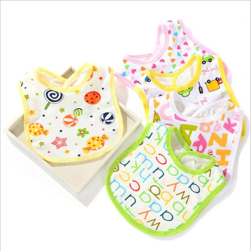 Y299 Free shipping sale new saliva towel Neonatal saliva towel large baby bib cotton 20*30 variety of patterns optional