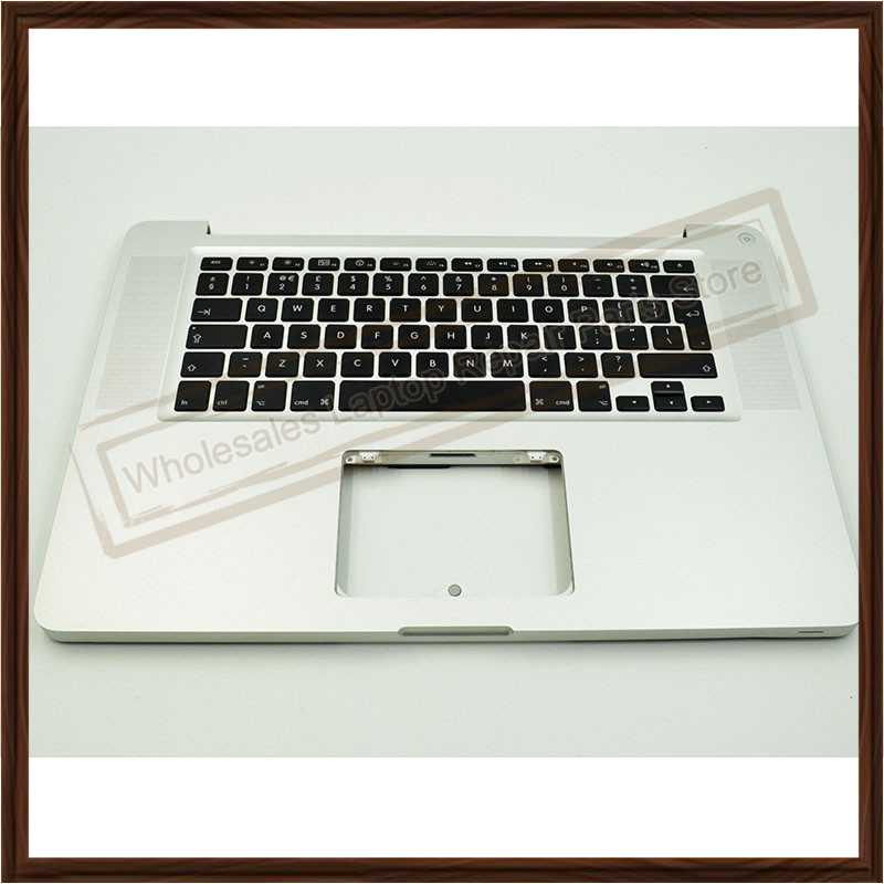 A1286 Top Case For Apple Macbook Pro A1286 Top Case With UK Keyboard For 2011