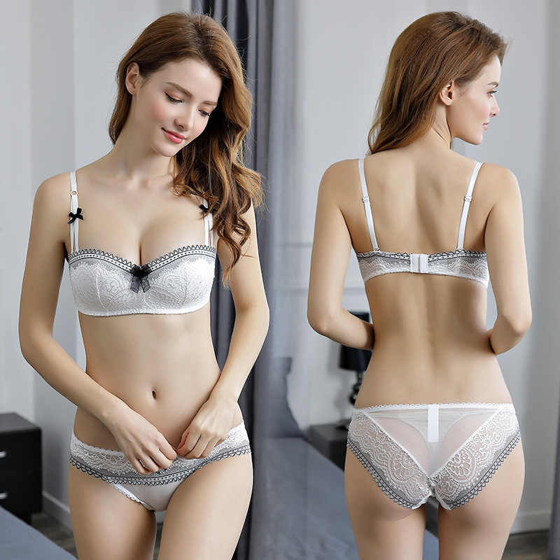 6ebaa674c6 ... OranriTing 2018 Sexy Lingerie Set New Intimates Lace Push Up Bra Briefs  Women Underwear Seamless Bra ...