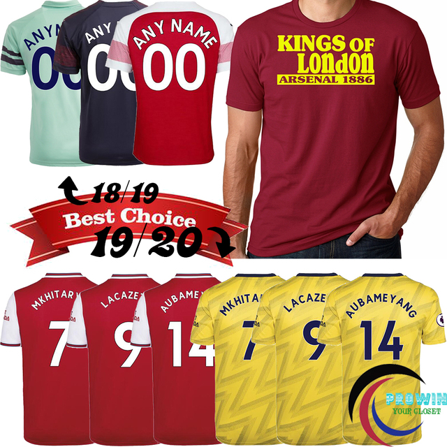 2019/2020 King of London Camiseta Fashion Men's Clothing T Shirt S-2XL Arsenal 1886 Home Away Third Tops Jersey