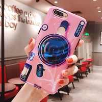 Cassa del Telefono Del silicone Per Huawei Compagno di 20 Pro Compagno di 20 Lite Cassa Della Macchina Fotografica Del Supporto Del Basamento Della Copertura Molle di TPU Per Huawei P di Smart P30 Pro Caso