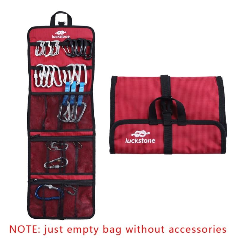 Outdoor Ice Climbing Hook Rope Storage Bag Multi-pockets Mountain Climbing Bags