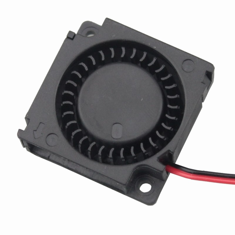 1 piece Gdstime 12 Volt DC Mini Cooling Fan 30mm x 10mm Blower Fan 12V 3cm 30x30x10mm 3010 3D Printer gdstime 1 piece 2 wire cooling brushless exhuat blower cooling fan 120mm 2 pin 120x120x32mm dc 12v 12032 sleeve bearing
