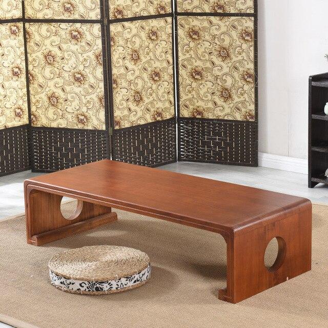 Antike Holz Tisch Für Gongfu Tee Trinken Größe 120x55 Cm Orientalischen  Stil Wohnzimmer Möbel Niedriger Center