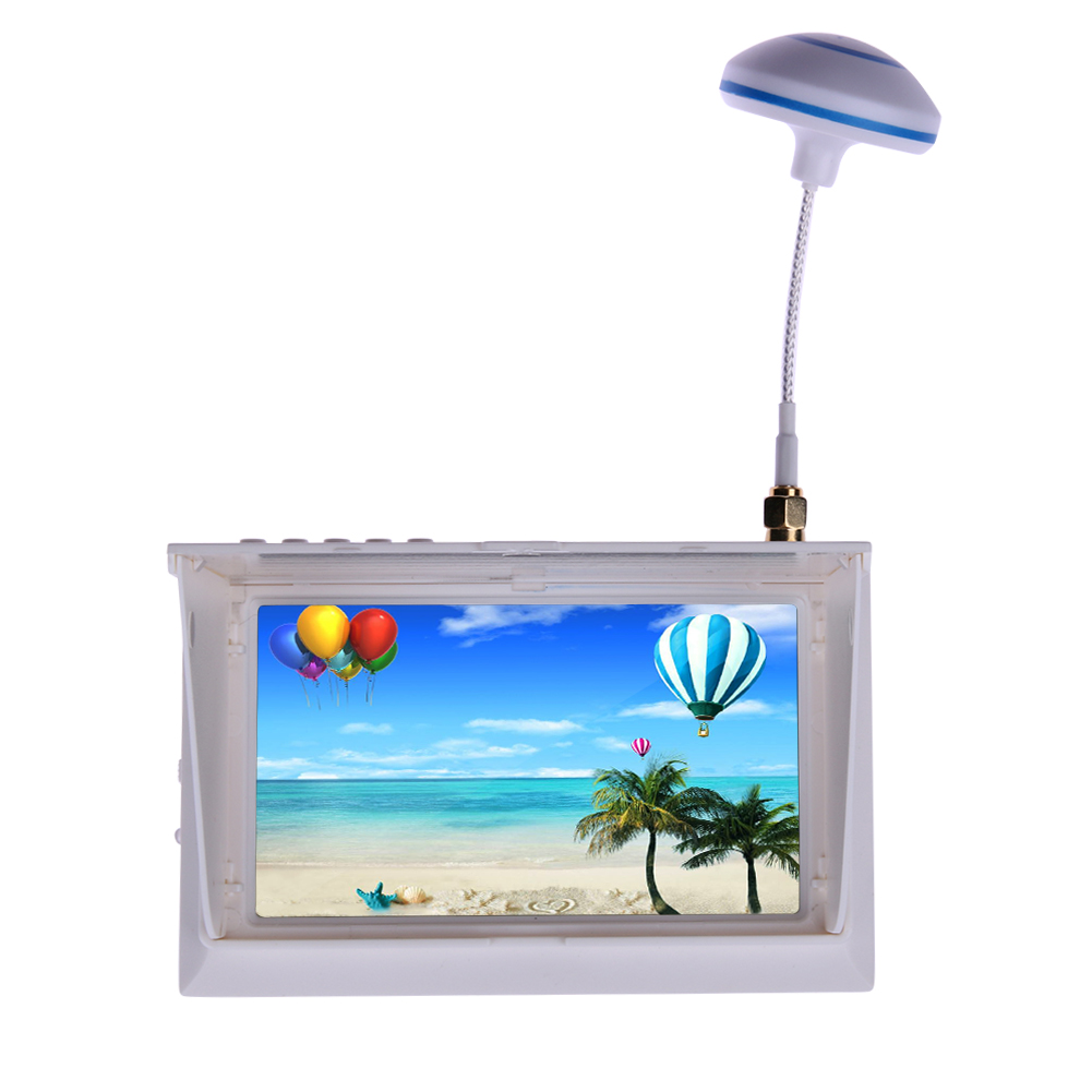 FPV Aerial Photography Car Color LCD TFT 4.3 inch Screen Monitor swellpro водонепроницаемые fpv беспилотный авто версия