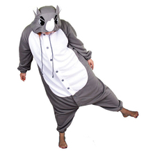 Free Shipping 2016 New Unisex Men Women Adult Funny Rhinoceros Pajamas Cosplay Costume Animal Onesies Rhino Sleepwear S M L XL