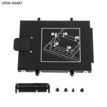 OPEN-SMART HDD Caddy Bracket Hard Drive Cover Adapter SSD Connector Laptop Accessory Screw for HP 9470M 9480M