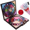 Compre 1 y obtenga 5 Fabulous 88 Colores Compone el Kit Profesional Paleta de Maquillaje de sombra de ojos Blush Lipgloss Leopardo Peine De Regalo 2016 Nuevo