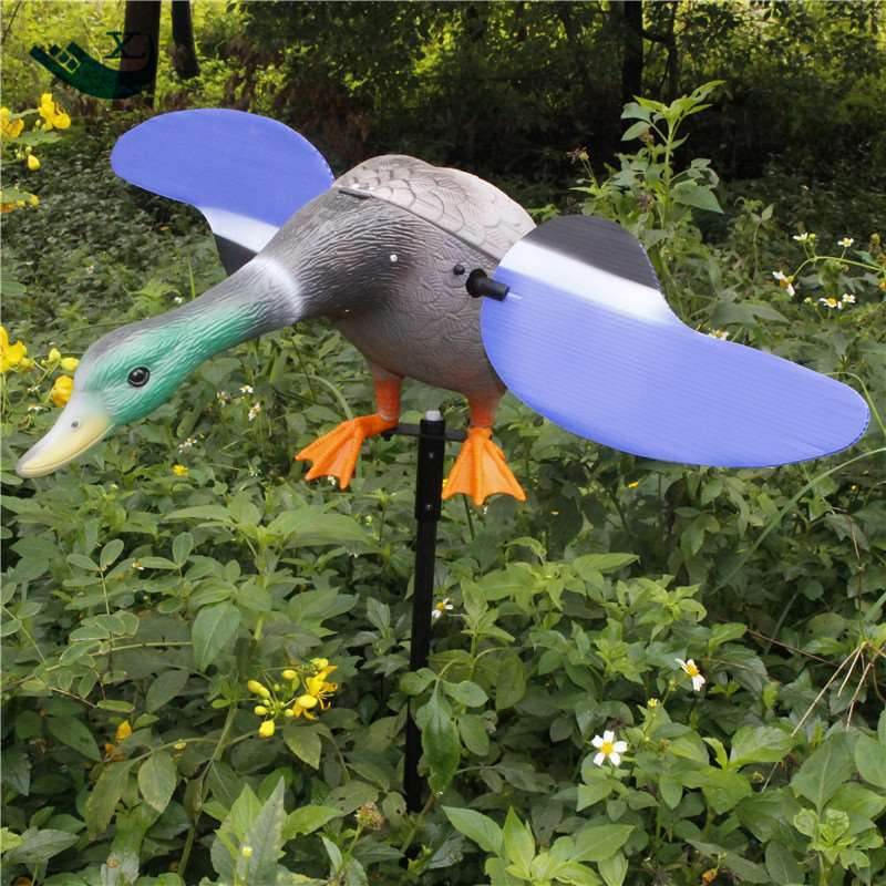 ФОТО Factory Directly Sell Dc 6V Remote Control Eco-Friendly Paint Duck Decoy Hunting Goods