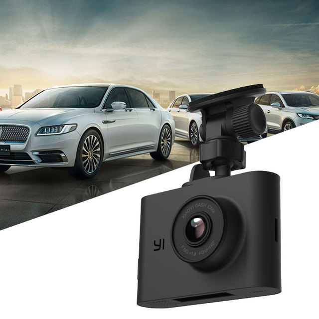 YI Nightscape Dash Camera 2.4 inch LCD Screen 140 Wide Angle Lens Night Vision ADAS HD 1080P Car DVR Dashboard Camera Vehicle 1