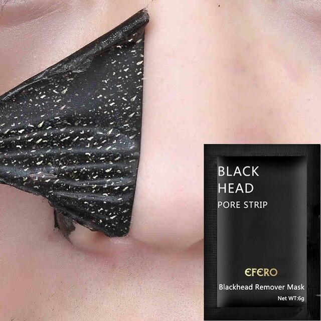 10 sztuk/partia piękno nosa maska zaskórnika usuwanie czarna maska maska czarna głowa porów odkleić do makijażu czarne kropki maska