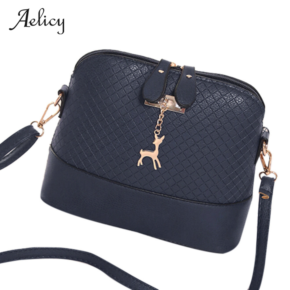 Aelicy High Quality Fashion Designed Mini Bag  Bolsa Feminina With Deer Toy Shell Shape Women Shoulder Bags Tote Bag Brands