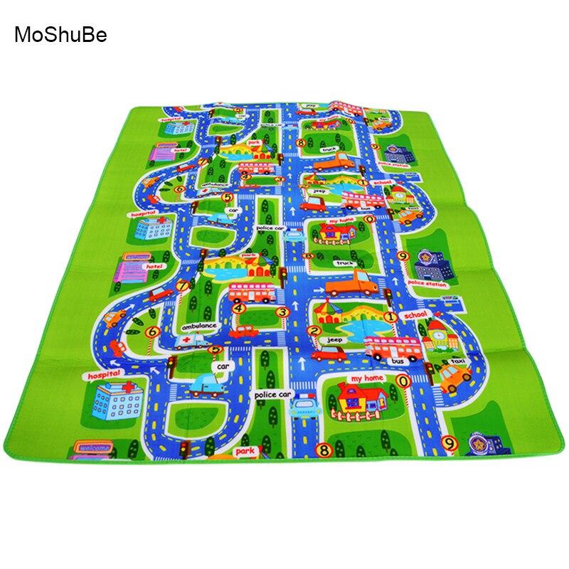 Baby Play Mat 200cm*160cm Kids Climbing Pad Children's Playing Toys Child Crawling Blanket Gym Game Kids Rug Carpet