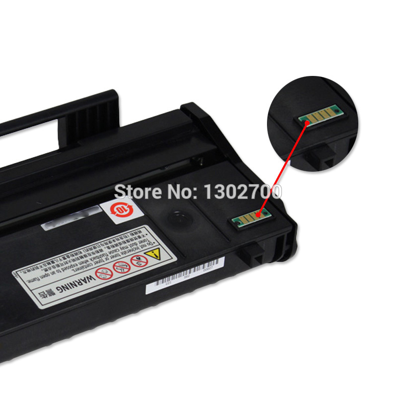 Toner cartridge refill kit for Ricoh Aficio SP 112 112SU