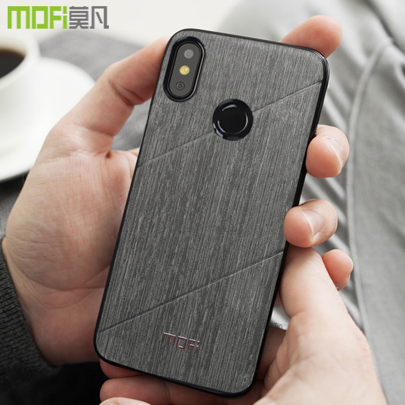 xiaomi redmi note 6 pro case cover hard back Mofi fitted buiness redmi note 6 global cover conque xiaomi redmi note 6 pro case