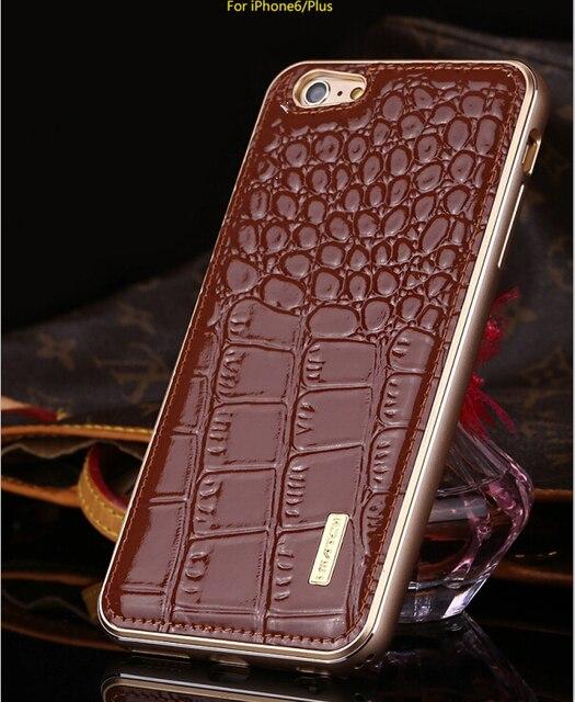 Aliexpress Com Buy For Iphone 6s Case Crocodile Pattern Genuine