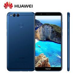 Global ROM Huawei Honor 7X 4GB 64/128GB 8MP+16MP Dual Rear Cameras 3340mAh 5.93 inch 2160*1080P Full View Screen Fingerprint