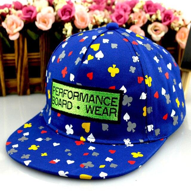 6c63952ec06dd Nueva Llegada de La Manera Verano Poker Impreso Snapback Cap Baloncesto Hip  Hop Snapback Sombrero Para