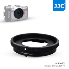 JJC 40.5mm Filter Thread Lens Adapter Ring Tube For Olympus Tough TG-1 TG-2 TG-3 TG-4 Camera FCON-T01 TCON-T01 Replaces CLA-T01