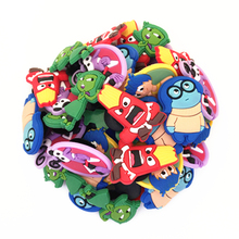 Wholesale 50pcs Random Mixed Inside Out Shoe Decoration Shoe Charms fit Children Croc shoes Accessories Birthday Party Gifts