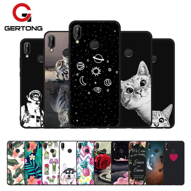 GerTong Cactus Universe Plane Painted Phone Case for Huawei P8 Lite 2017 P9 P10 Lite P20 Pro Mate 10 Y9 2018 For Honor 8 Lite 9i