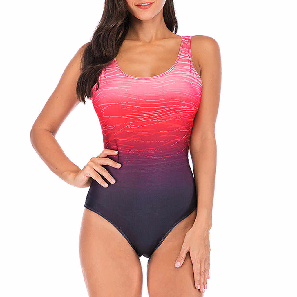 Grande taille maillots de bain femmes Sexy rose une pièce maillot de bain femmes été 2020 Sexy Sport maillot de bain pour les femmes Stroj Kapielo
