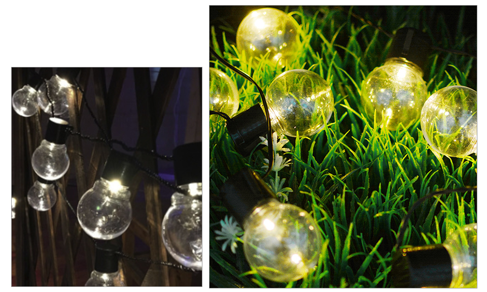 LED Solar Lawn Lamp Rechargeable Solar String Light 2.55M 1020 Bulb Waterproof Outdoor Garden Party Christmas Decor (16)