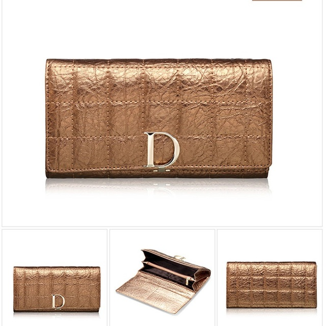 Very Hot Genuine Leather Wallet Women  Purse Fashion Designer Wallets Famous