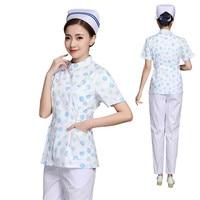 Short&Full Sleeve Scrubs Nersing Uniforms Hospital Medical Surgical Lab Coat Pharmacy Beauty Salon Overalls Dentist Work Wear