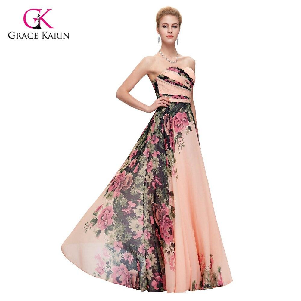 Long Evening Dresses Plus size Grace Karin abendkleider 2018 elegant ...