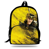 16 Inch Movie Loki Marvel Print Backpack For Teenage Boys&Girls Super Hero Set Daily Backpack Children School Bag