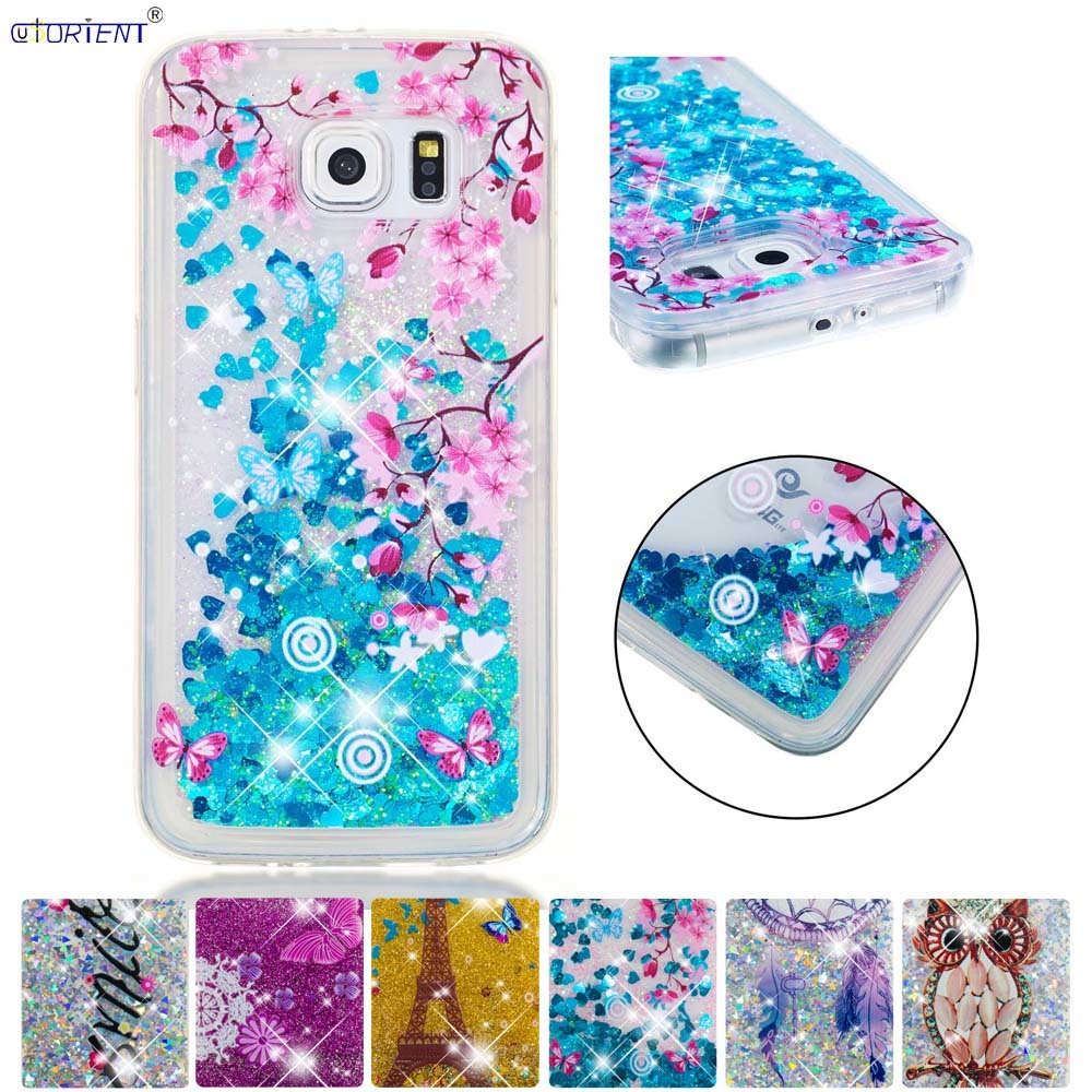 Cellphones & Telecommunications Purposeful Fitted Cover For Samsung Galaxy S6 Glitter Stars Dynamic Quicksand Liquid Phone Case Sm-g920f Sm-g920fd Silicone Tpu Cases Funda Chills And Pains Phone Bags & Cases