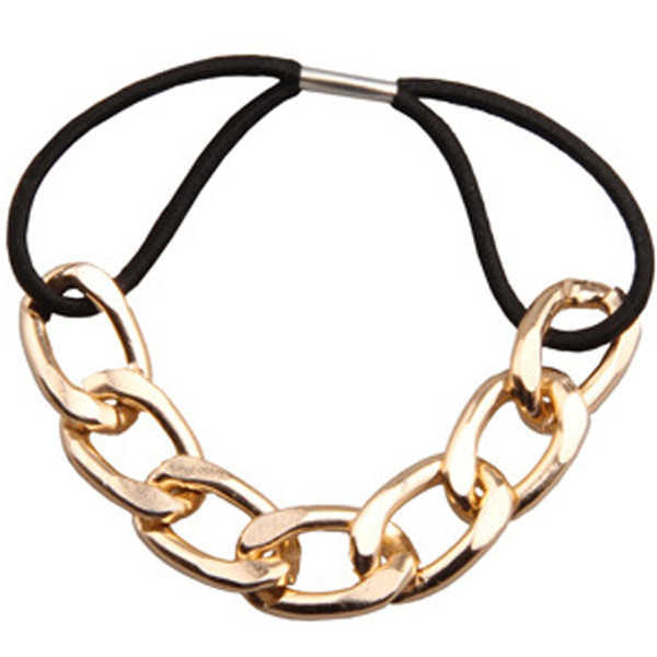 Metal Chain Hair Tie