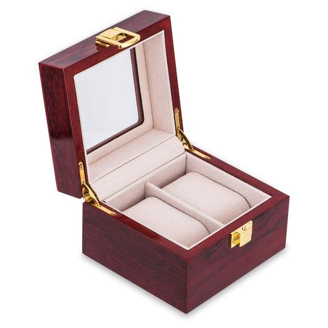 Luxury Wooden Watch Box Watch Holder Box For Watches Men Glass Top Jewelry Organizer Box 2 3 5 12 Grids Watch Organizer New D40 | Watch Boxes