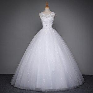 Image 3 - Fansmile 2020 Robe De Mariage Prinzessin Weiß Ballkleid Hochzeit Kleider Vestido De Noiva Plus Größe Custom Hochzeit Kleider FSM 023F