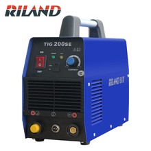 Riland  TIG200SE Portable Single Phase 220V DC Inverter  Tig Welder Tig Welding Machine Tig dc Welder mma tig welder tig 180a