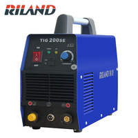 Riland TIG200SE Portable Single Phase 220V DC Inverter Tig Welder Tig Welding Machine Tig dc Welder