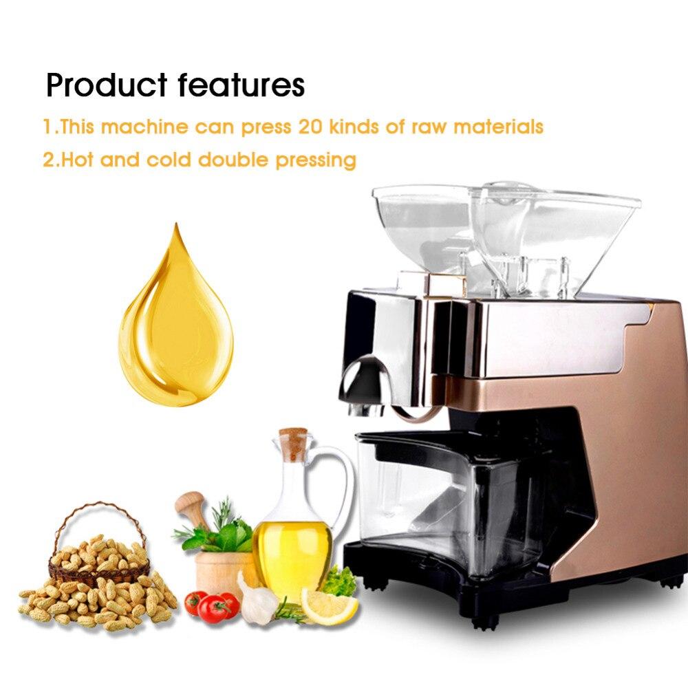 Froid Équipement Commercial D'huile De Noix De Coco Pression Maslopress D'extraction de Presse Fèves De Cacao D'arachide Raisin Production Machine à Beurre